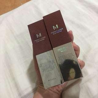 Authentic Missha perfect cover bb cream