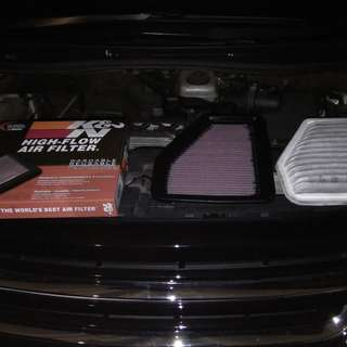 Honda k&n Drop-In filters