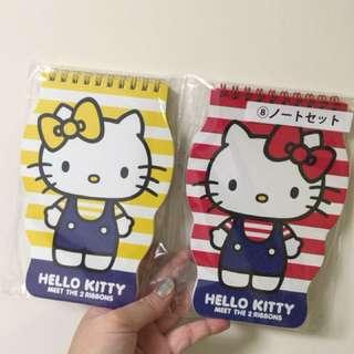 Hello Kitty notebook in set