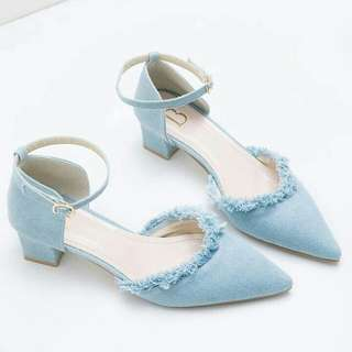 Poppy Heels Bymay BLUE