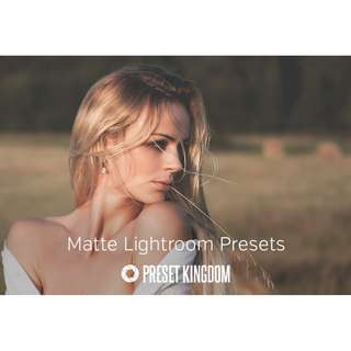 Preset Kingdom - Matte Lightroom Preset