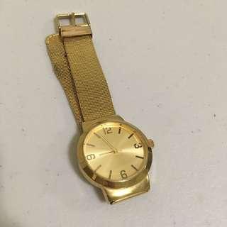 Zalora Gold Watch