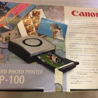 全新Canon CP100 photo printer 相片打印機