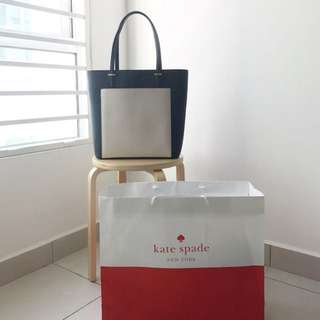 (KATE SPADE) Authentic Tote Bag