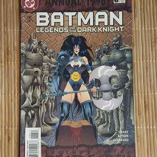 Batman Legends of the Dark Knight Annual 1996 # 6