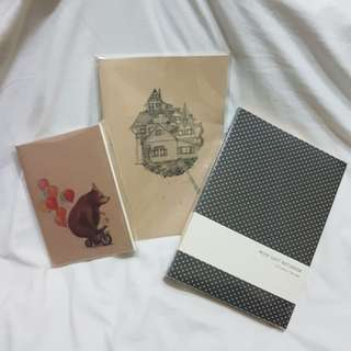 Assorted Notebooks (Unlined)