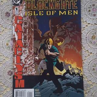 Batman Cataclysm - Blackgate Isle of Men