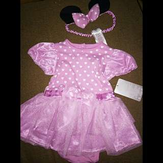 minnie mouse dress w/ headband