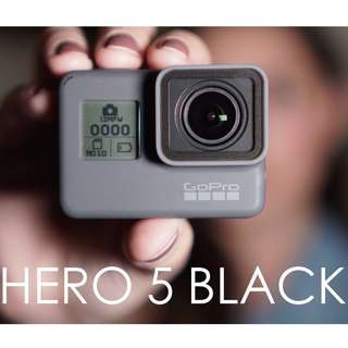 [RENT] GoPro Hero 5 (newly discounted deposit fee)