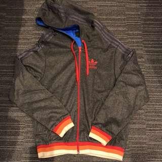 Adidas 男裝灰色外套 s size 80% new