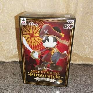日本景品-Mickey Pirate FIGURE