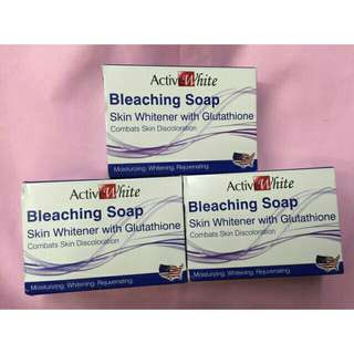 Active White Bleaching Soap