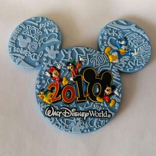 迪士尼樂園2010年版 磁石