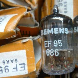 Simens EF95 (NOS tube) -  6J1 / 5654 / 6AK5 / EF91 / 6*1 / CV4010