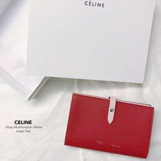 CELINE Strap Multifunction Wallet Large Size