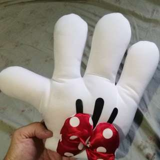 Disney minnie mouse glove