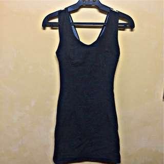Pre-loved sexy black dress