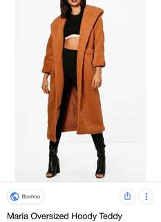 Maria Oversized Teddy coat