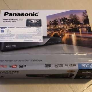 Panasonic Blu-ray Disc Player DMP-BDT180GA