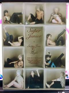 Super Junior6輯 sexy,free&single b版