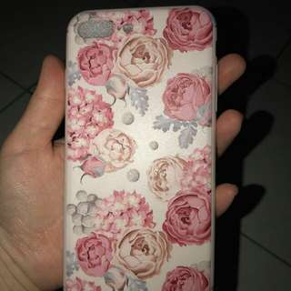 Casing flower iphone 7+