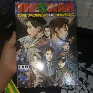 EXO The war repackage-The power of music