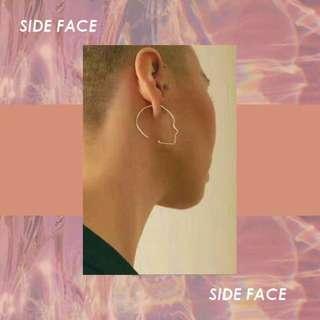SIDE FACE EARRINGS