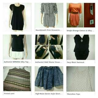 TAKE-ALL SUPER SALE!!! Take ALL 11 piece clothing items for only 800!!!