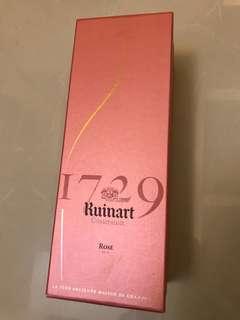 1729 Ruinart Champagne Rose Brut - Sleeve