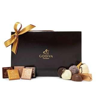 GODIVA巧克力珠寶禮盒30顆裝
