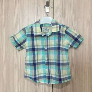 Baby Zara Checkered Shirt