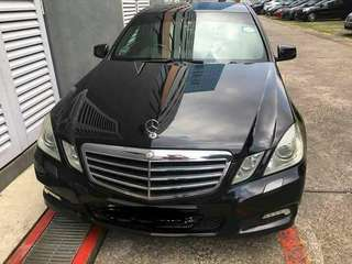 Affordable Merc E200 for Long term lease (great condition)