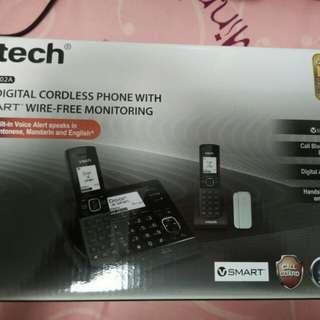 vtech室内双子母機無線电話
