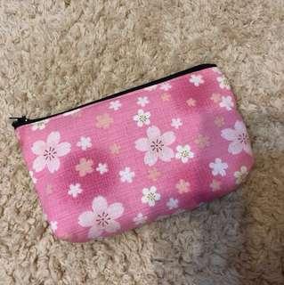 日本櫻花小物袋