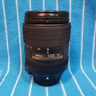 Nikon DX Afs 18-300 G VR