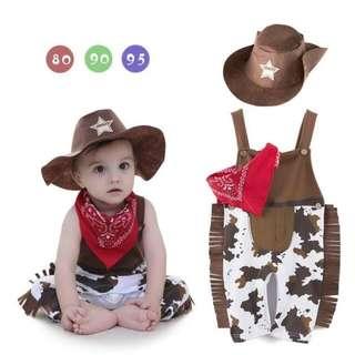 Preloved Cow Boy Costume