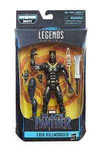 marvel Legends Black Panther Legends Erik Killmonger 黑豹 Shf Mafex Medicom Figure Figma Hottoys 海洋堂 壽屋 模型 1:12 場景 景品 代購