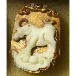 Archan Toh Thai Amulet Zodiac Cow