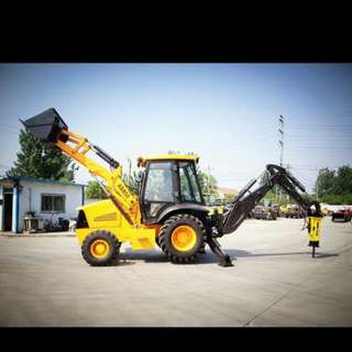 Rent for backhoe