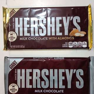Hersheys Giant 7oz(198g)