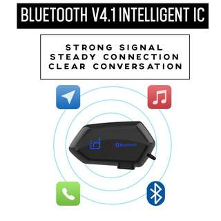ID221 Motorcycle Helmet Bluetooth Headset communicator Moto A1
