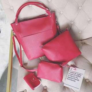 Handbags x 4