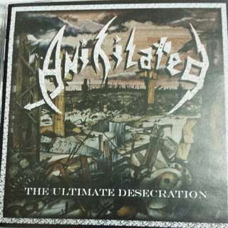 Music CD (Metal): Anihilated–The Ultimate Desecration - Cult UK Thrash Metal Band - Marquee Records Brazil Reissue