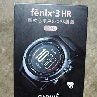 全新 Garmin Fenix 3 HR (藍寶石中文版) 行貨欠保