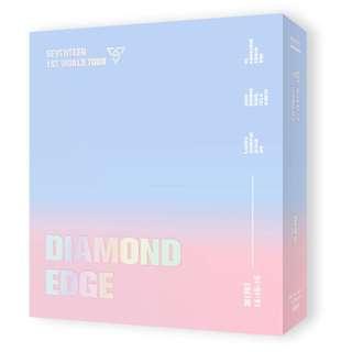 2017 SEVENTEEN 1ST WORLD TOUR CONCERT [DIAMOND EDGE IN SEOUL] DVD PRE-ORDER