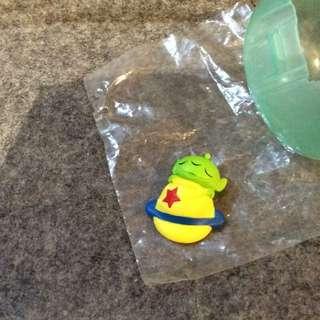 三眼怪扭蛋 睡覺系列 玩具總動員 迪士尼Disney 比薩星球