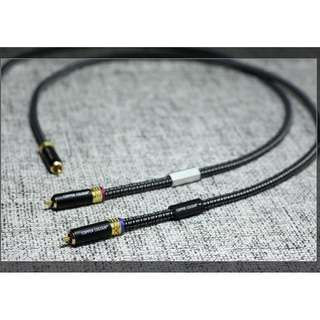 Moon V RCA / Interconnect Cable - Copper Colour