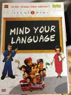 DVD Mind your language (set of 5 DVDs)