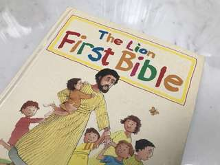 The Lion First Bible by Pat Alexander