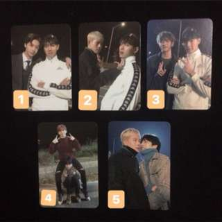 Monsta X The Code Unit Photocard [De:Code]